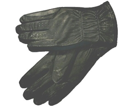 S-T-R-E-T-C-H LEATHER GLOVE FOR MEN, WOMEN AND CHILDREN- BLACK AND BROWN