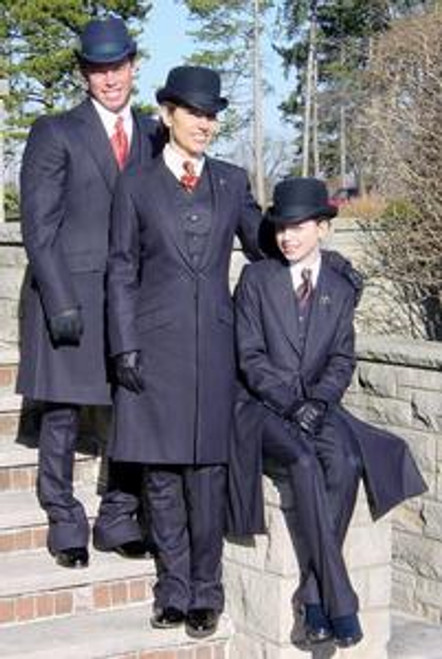 MENS ELITE SUIT DISCONTINUING CALL FOR SIZES ONLY AVAILABLE IN NAVY BLUE
