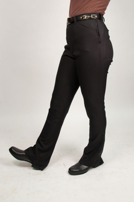 LADIES' POLYESTER LOW RISE JOD PANTS