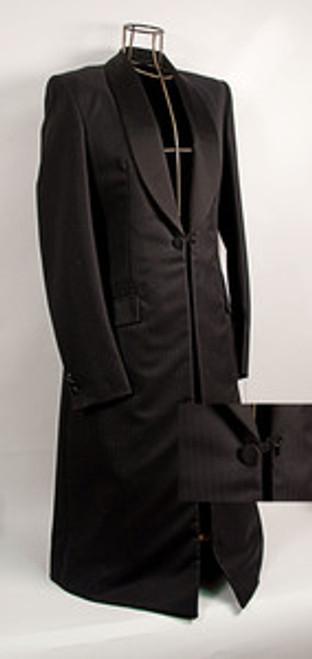 Ladies Premier Black Formal Coat- CLOSEOUT
