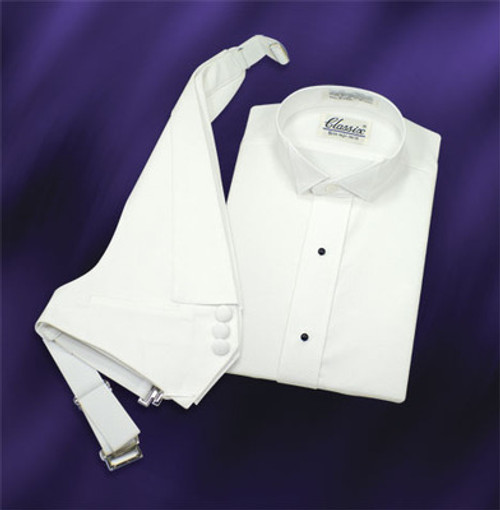LADIES' PIQUE FORMAL SHIRT
