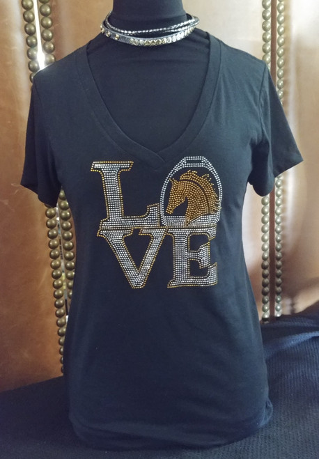 Bling Horse Love Shirt