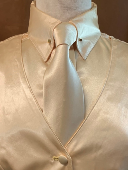 """Very Limited - Select Edition Satin Tie """"Butter"""""""