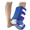 The HEELIFT® AFO Ultra and HEELIFT® AFO showing a patient foot to help prevent heel ulcers.