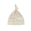Nature Baby Knotted Beanie - Pollyanna Print