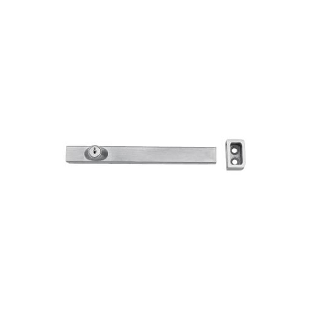 Don-Jo 1579-626 Surface Slide Bolt with keys