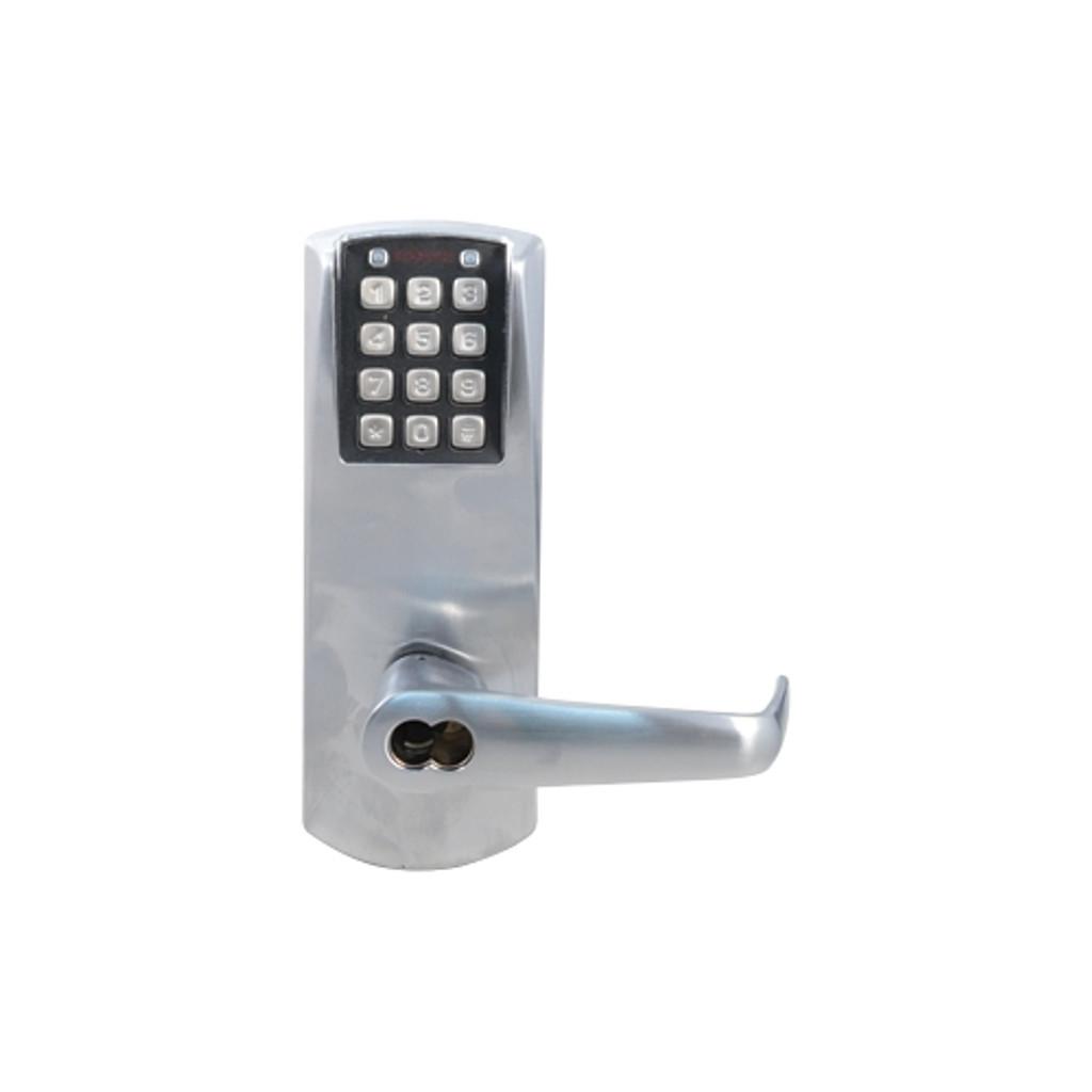 Kaba PowerPlex P2000 Series P2031BLL-626-41 Cylindrical SFIC Self Powering Electronic Lock