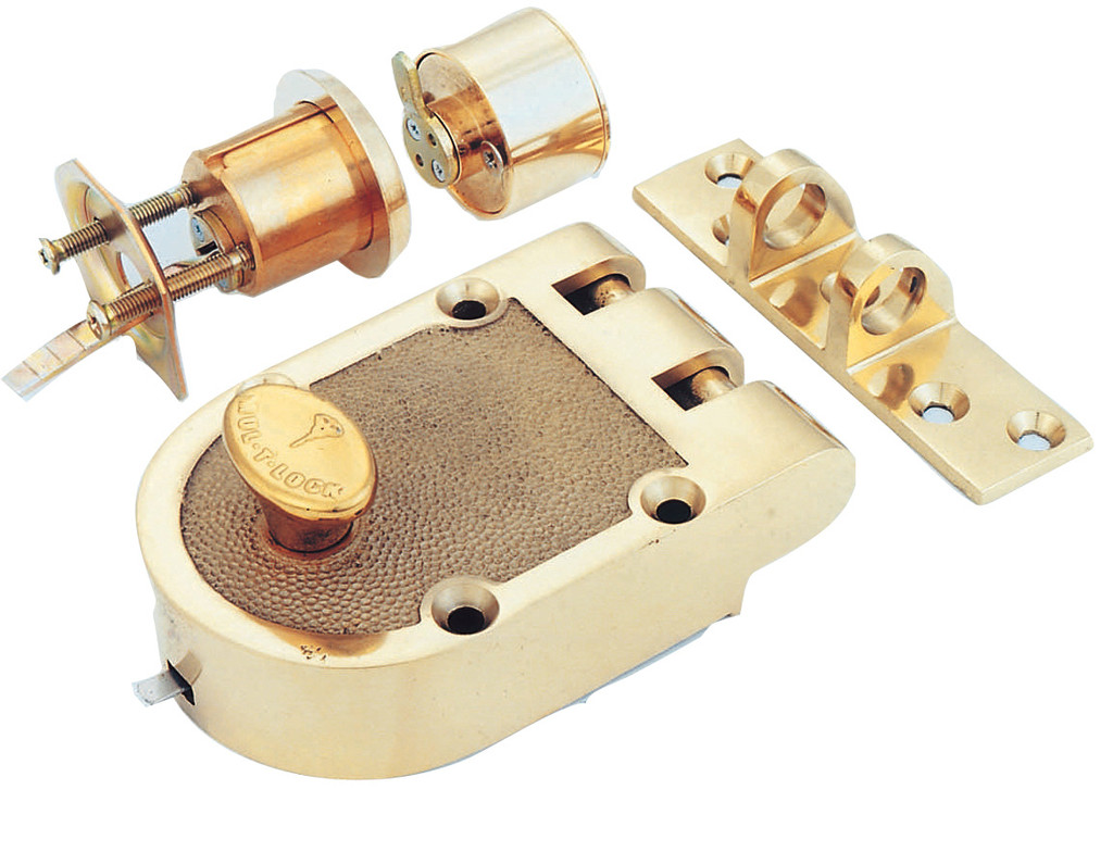 Mul-T-Lock Single Cylinder Jimmy Proof Deadlock