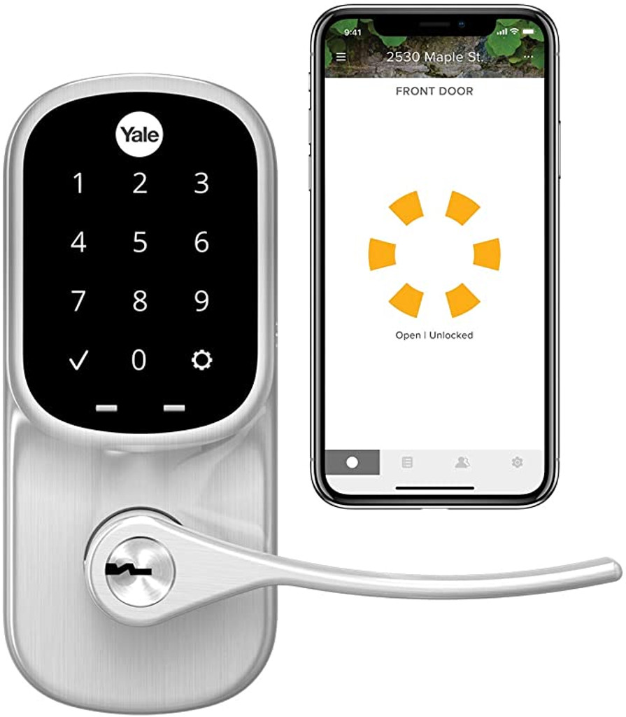 Yale Assure Lock Key Free Touchscreen Lever Lock