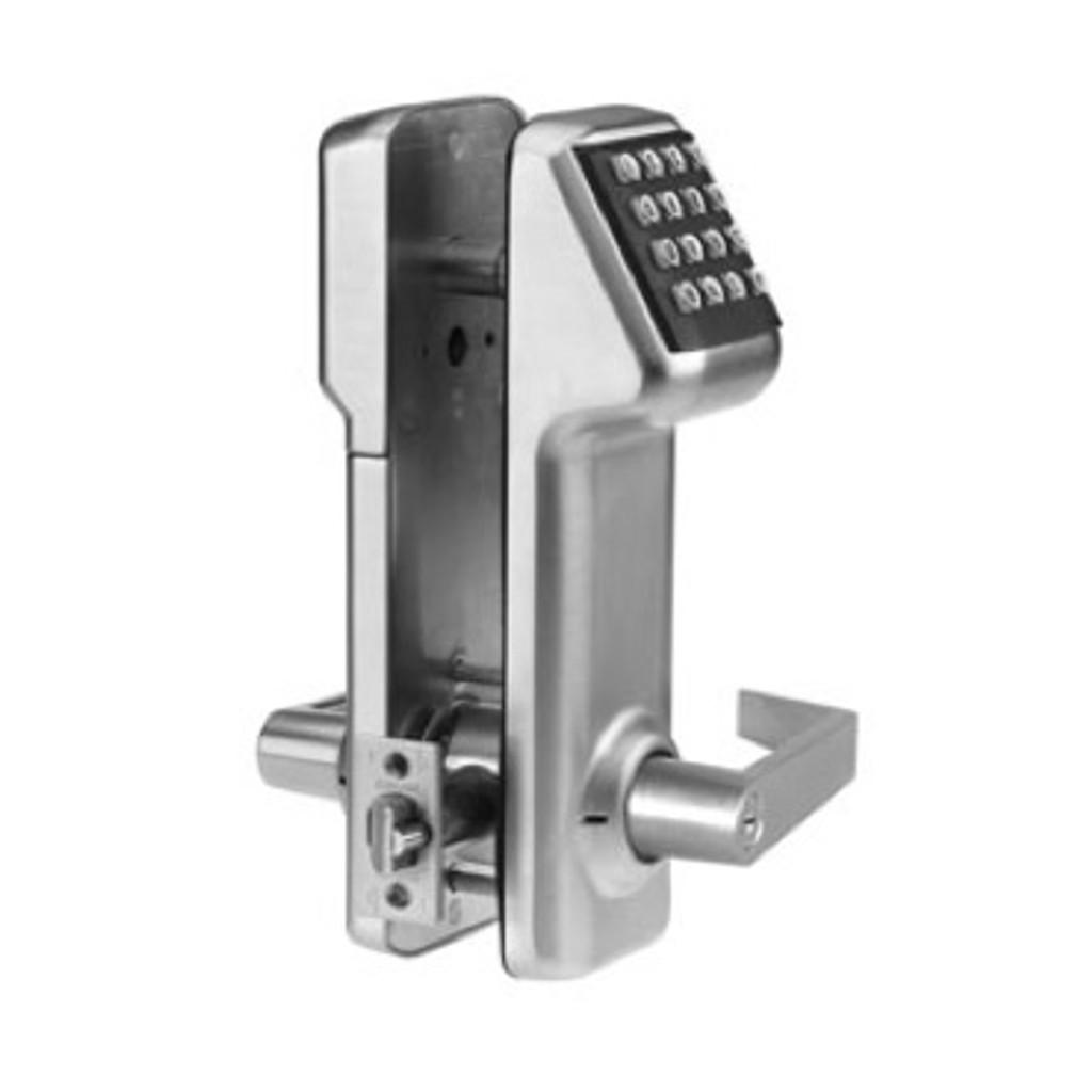 Marks USA IQ1 LITE i-QWIK LITE Stand Alone Cylindrical Lockset Electronic Access Control Satin Chrome