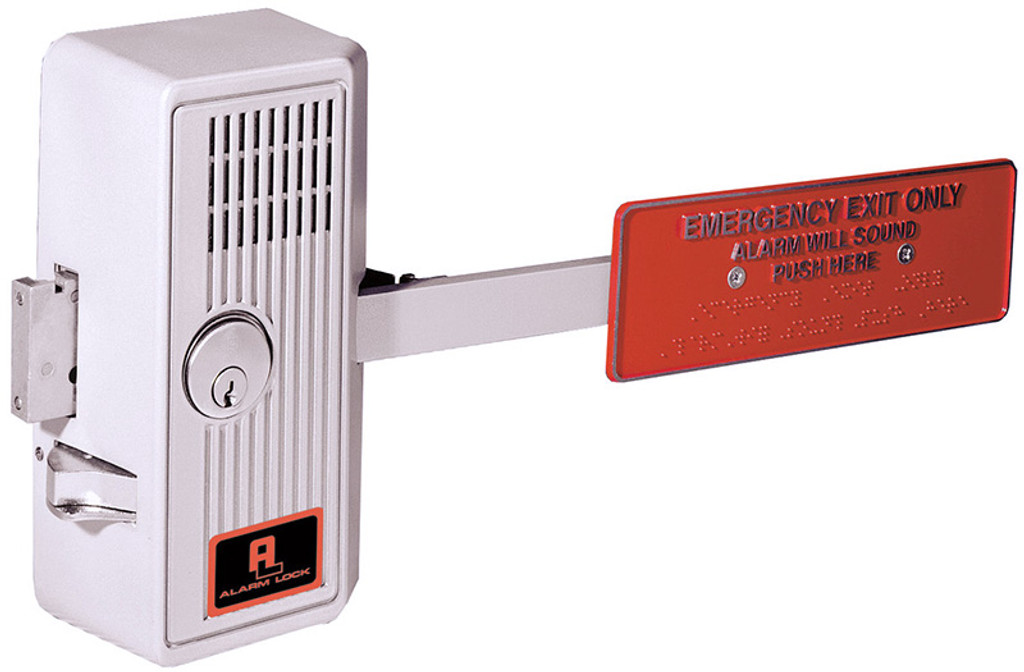 Alarm Lock 250x28 Exit Alarm Paddle Sirenlock