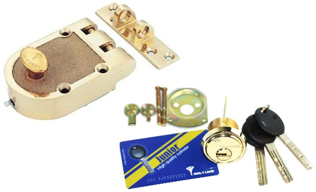 Mul-T-Lock Junior Jimmyproof Deadlock 008J-JPST01-05-D
