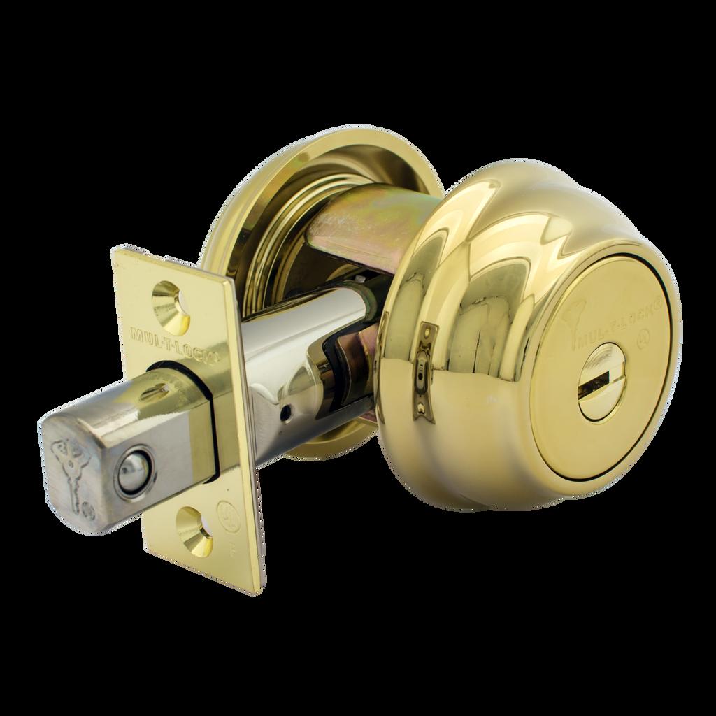 Mul-T-Lock Hercular Single Cylinder Deadbolt HD1 Decorative Style