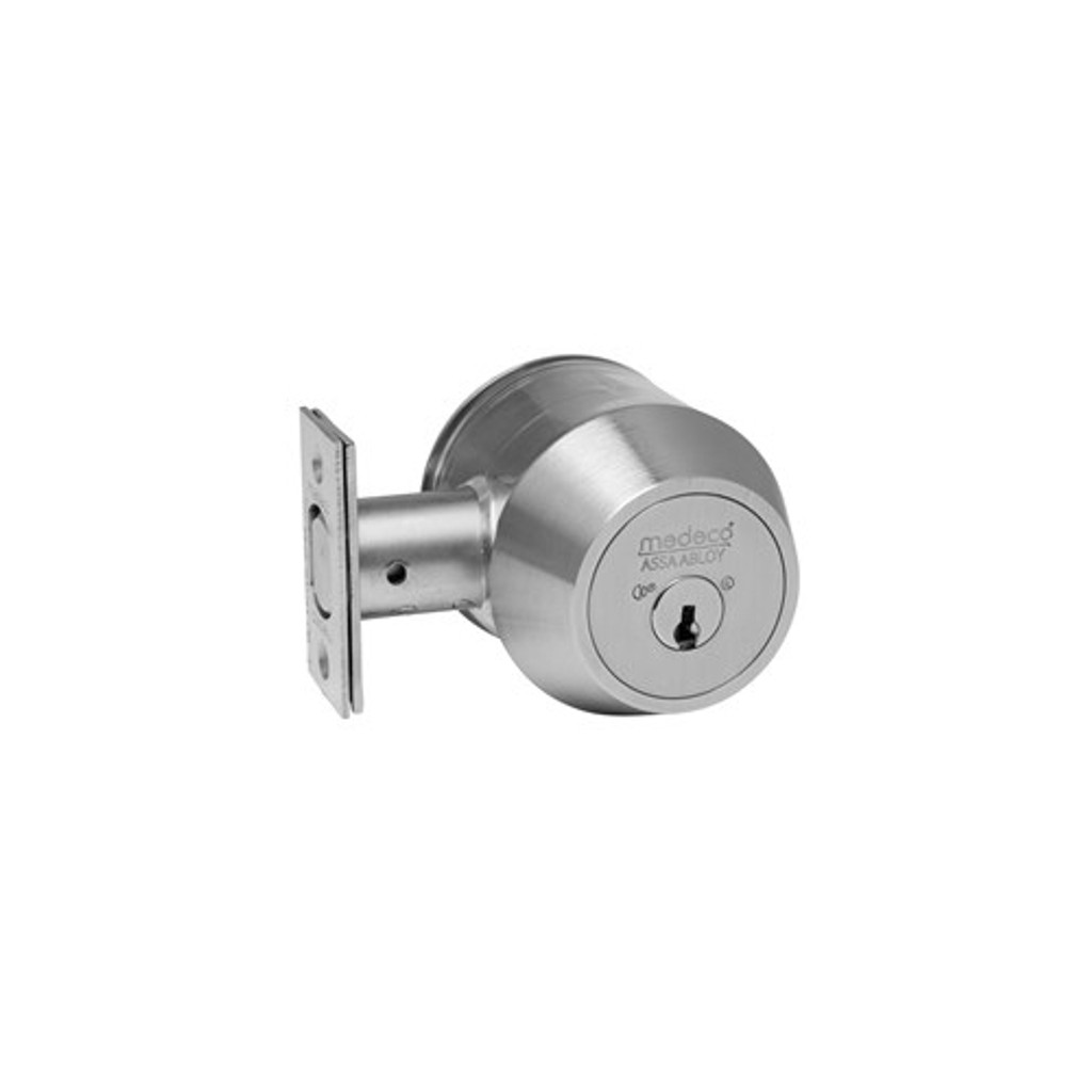 Medeco 11TC604 Single Cylinder Grade 1 Commercial Deadbolt