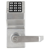 Alarm Lock DL6100 Cylindrical Trilogy® Networx PIN-Code Wireless Access Control Lock
