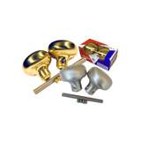 Progressive Hardware Standard Duty Knob Set For Marks Mortise Lockset