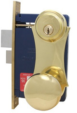 Marks USA Ornament Unilock Mortise Lockset 21AC
