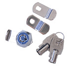 Guard Security - Mailbox Lock With Round Key No. 128
