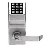 Alarm Lock - DL2700 Trilogy T2 Push button Lock Satin Chrome