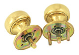 Marks Ornamental Iron Mortise Locksets Int/Ext Knob/Rose Kit K22/3