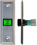 Seco-Larm SD-7103GC-PEQ Enforcer Slimline LED-Illuminated Push-to-Exit Narrow