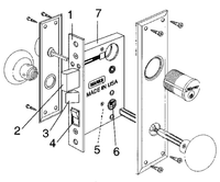 Marks Metro Mortise Lockset 91A Series