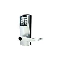 Kaba E-Plex E2067XS-LL-626-41 Schlage Key Override Lever American Steel Mortise Electronic Lock