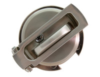 Ultimate Lock System - Flip Guard Deadbolt Security Satin Nickel