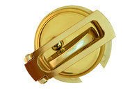 Ultimate Lock System - Flip Guard Deadbolt Security Polished Brass