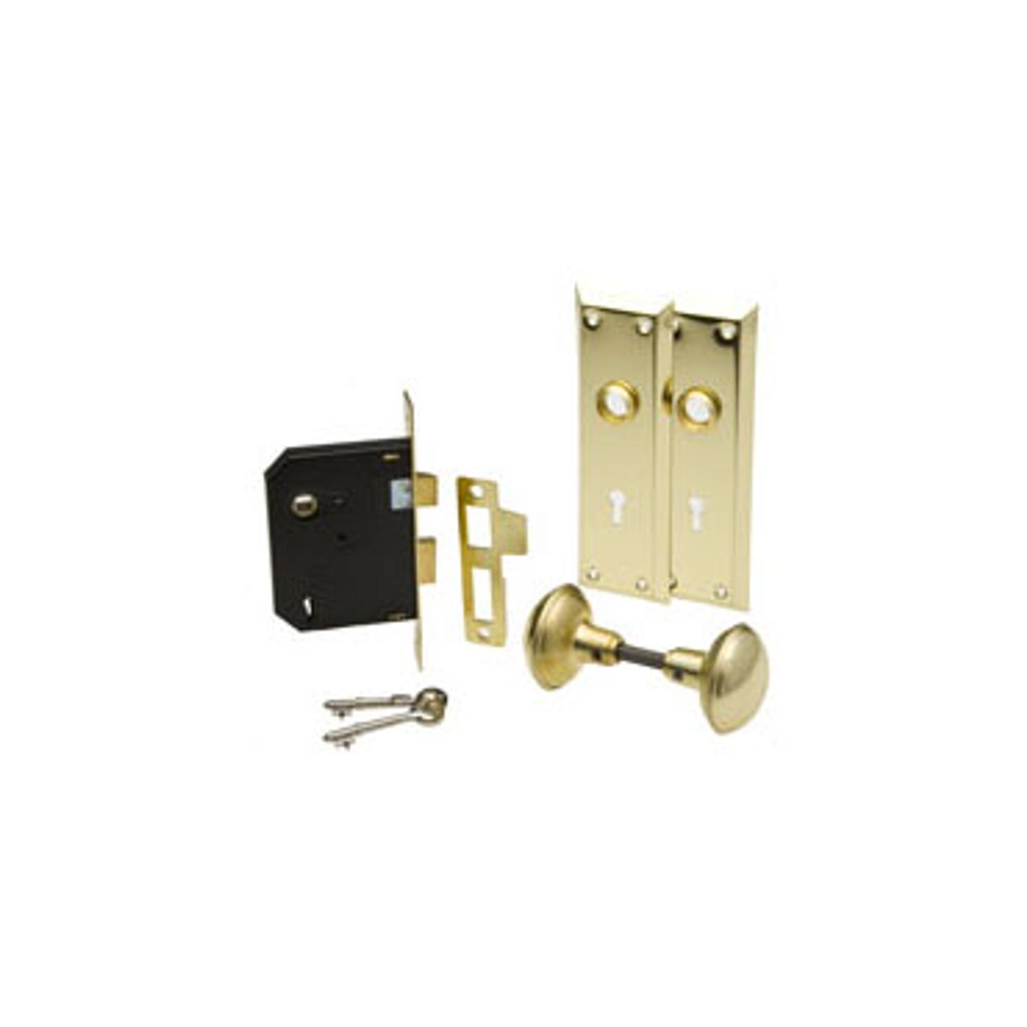 ilco 215-04-51 Bit Key Mortise Lockset