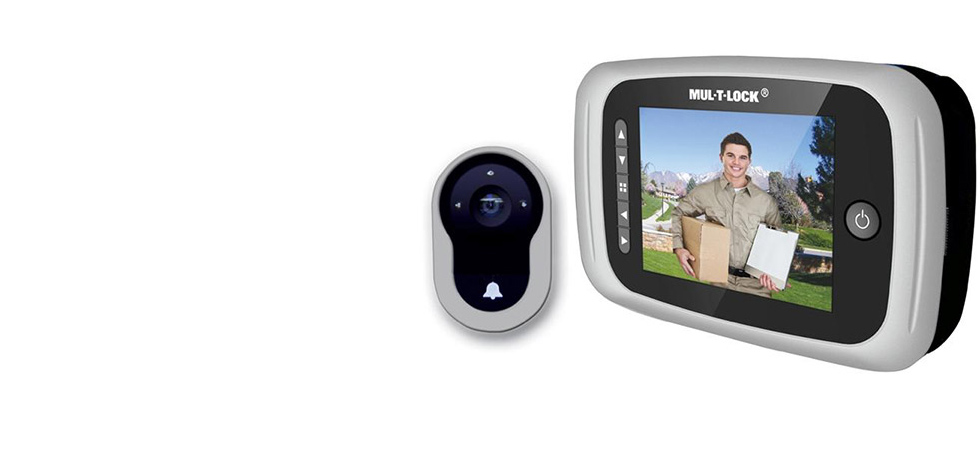 Mul-T-Lock Digital Door Viewer