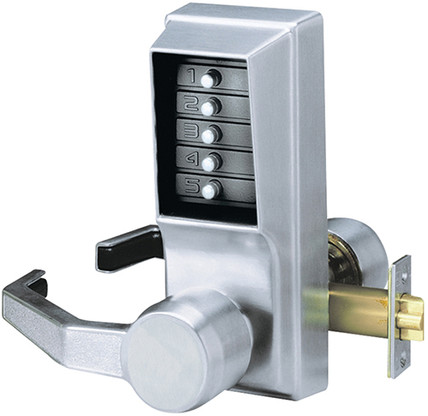 2 KABA SIMPLEX ILCO THREAD RING KNOB SATIN 20416926D01 UNICAN LOCK COMBINATION