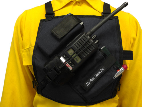 Hayes Radio Harness, Front View,