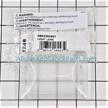 Part Number SB03293051 replaces  B03293051