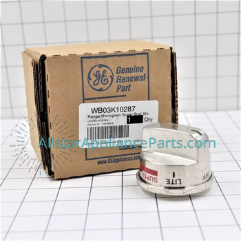 Part Number WB03K10287 replaces  WB03K10215