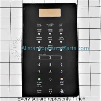 Touchpad Overlay, Black 5304473811