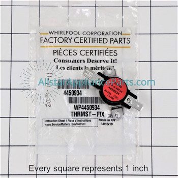 Part Number WP4450934 replaces  4450934