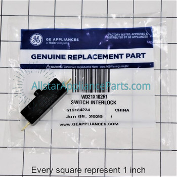 Part Number WD21X10261 replaces WD21X557