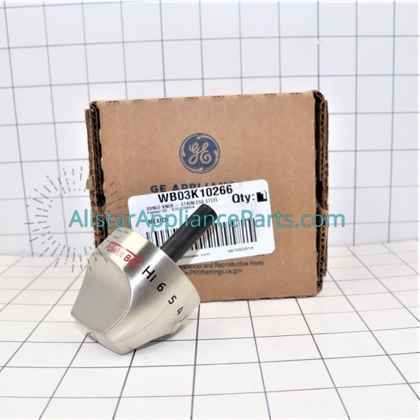 Part Number WB03K10266 replaces WB03K10243