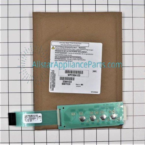 Part Number WP2304123 replaces 2304123
