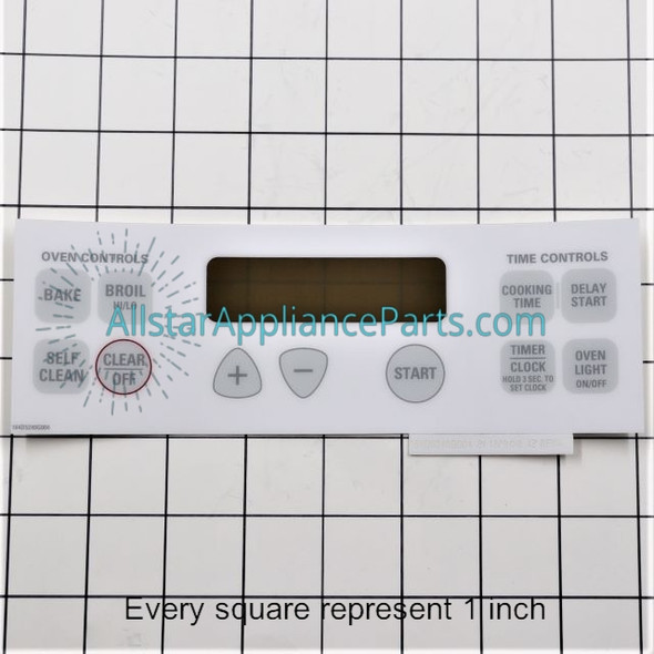 Faceplate WB27T10588