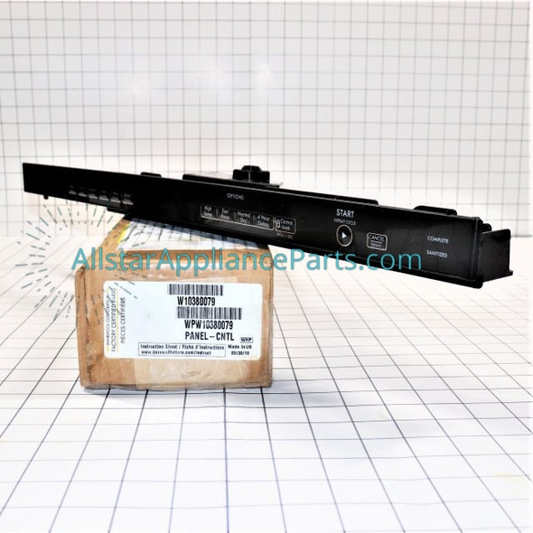 Part Number WPW10380079 replaces  W10322269,  W10380079