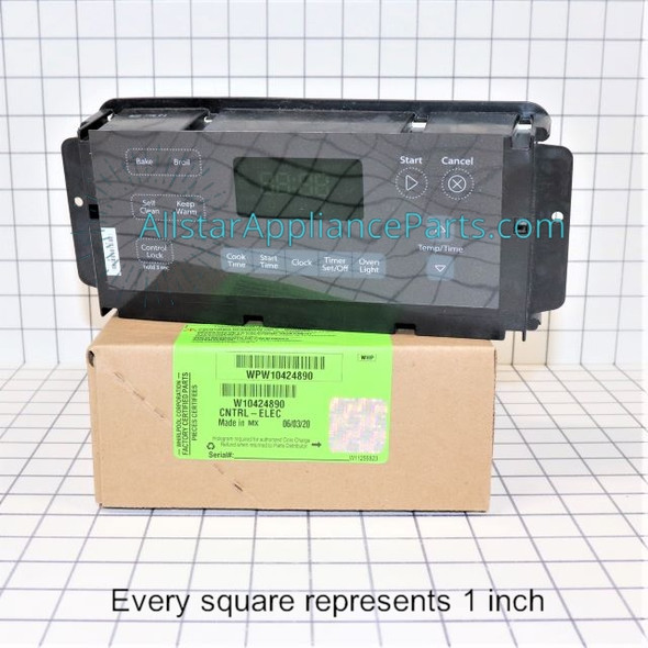 Part Number WPW10424890 replaces W10349741, W10424890
