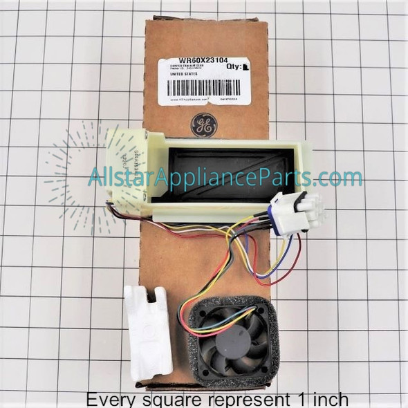 Part Number WR60X23104 replaces WR60X10343