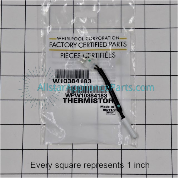 Part Number WPW10384183 replaces W10384183