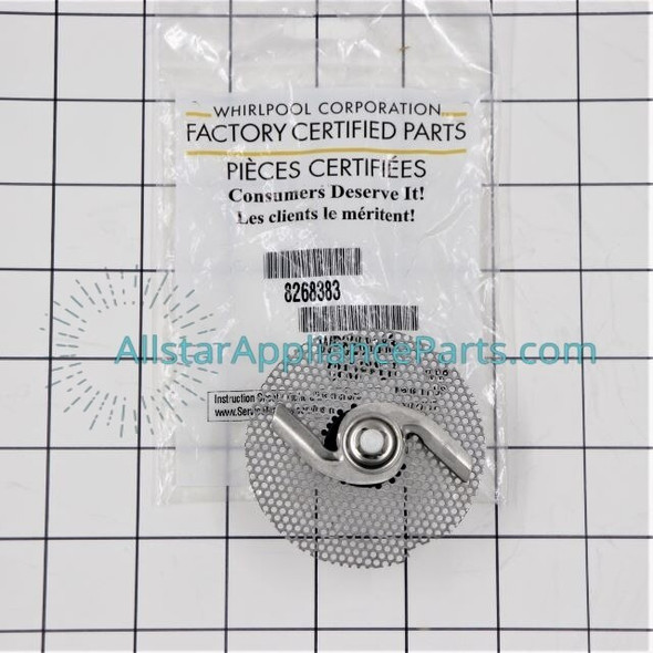 Part Number W10083957V replaces  W10083957,  W10083957VP,  WP8268383.