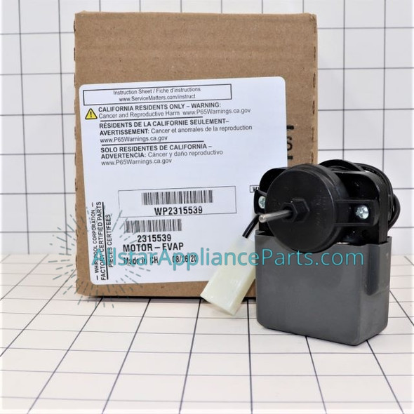 Part Number WP2315539 replaces 2219689, 2225625, 2315539, W10438708, WP2315539VP