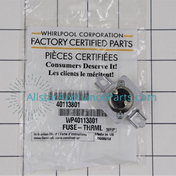 Thermal Fuse WP40113801