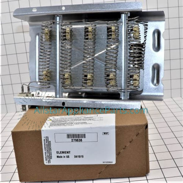 Part Number 279838 replaces 279837, 279838A, 279838VP, 3398064, 3403585, 8565582, W10724237