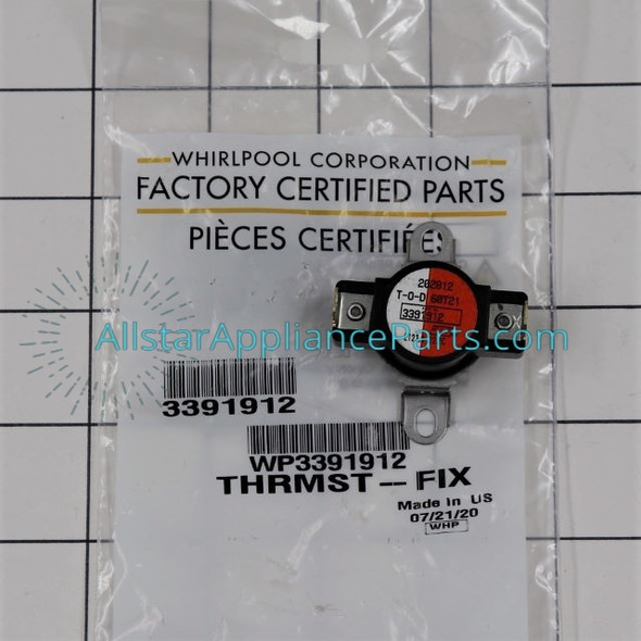 Part Number WP3391912 replaces 3391912